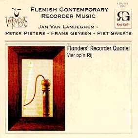 Flemish Contemporary Recorder Music - Novecento