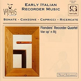 Early Italian Recorder Music - Seicento